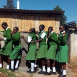 The Water Project : 34-kenya4653-finished-latrines