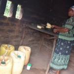 The Water Project: Ikulya Community A -  Household Kitchen