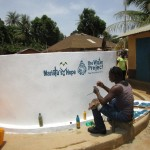 The Water Project: Petifu Junction Community -  Painting Sign