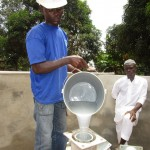 The Water Project: Malokoh Community, #4 Mabesseneh Road -  Pump Installation