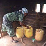 The Water Project: Ikulya Community -  Household Kitchen