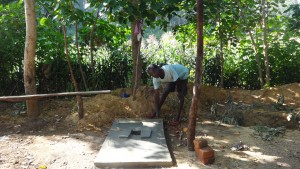 The Water Project:  Sanitation Platform For Latrine
