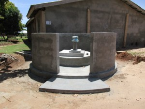 The Water Project:  Finished Well Pad
