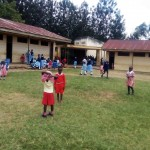 The Water Project: Mumias Central Primary School -  School Compound