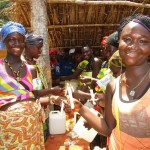 The Water Project: Ponka Village -  Hand Washing Stations