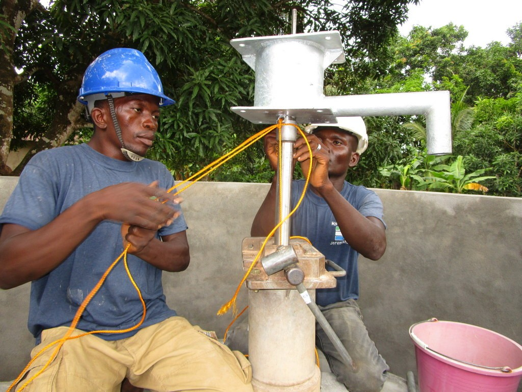 45 sierraleone5112 pump installation