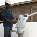 The Water Project: Victory Evangelical Church -  Pump Installation