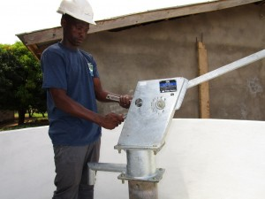 The Water Project:  Pump Installation
