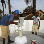 The Water Project: DEC Primary School -  Pump Installation
