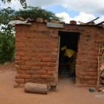 The Water Project: Kivani Community -  Pius Household Kitchen