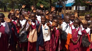 The Water Project:  Students Excited About A Project