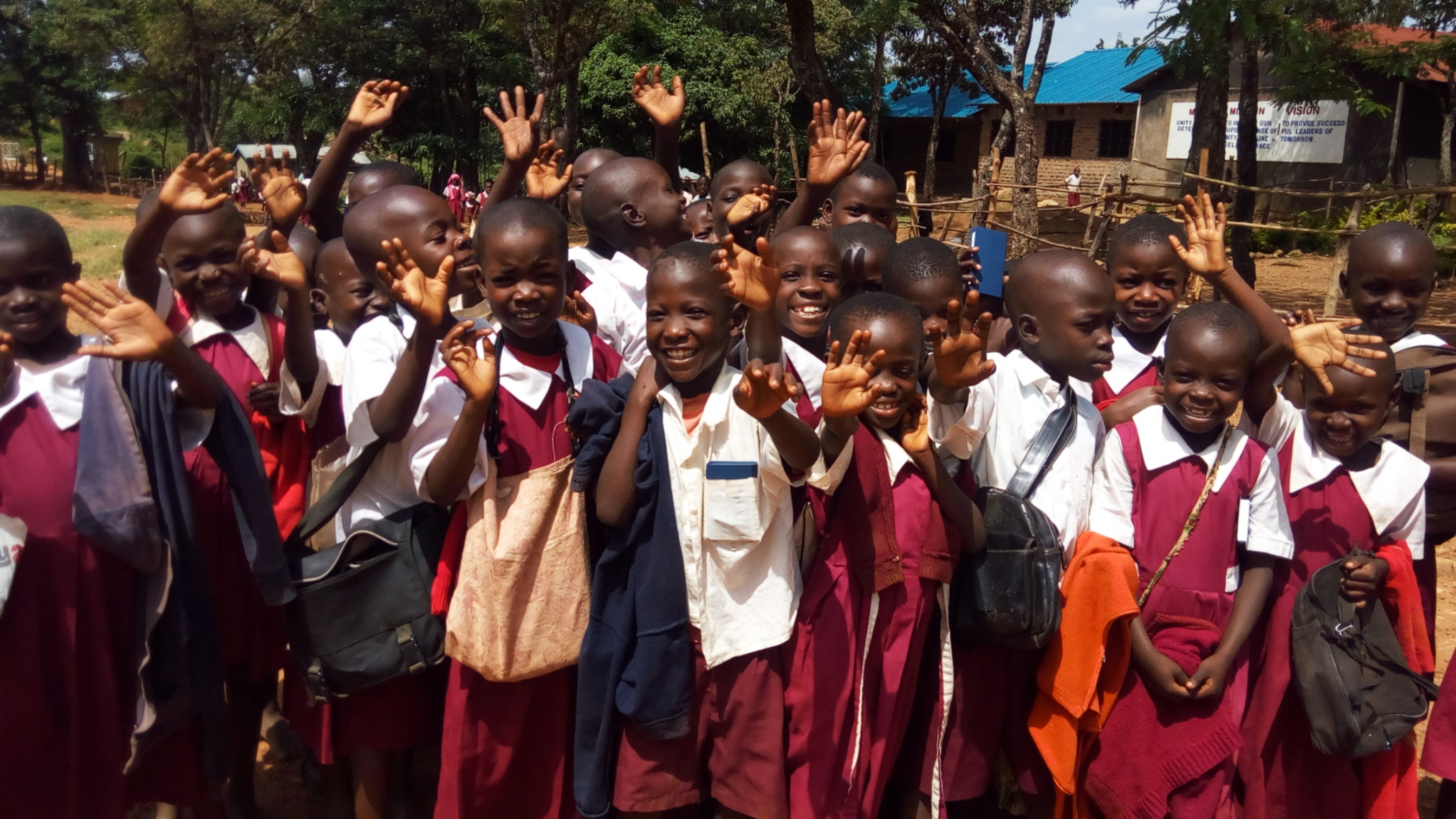 The Water Project : 5-kenya4831-students-excited-about-a-project