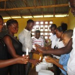 The Water Project: Word of Life Bilingual School -  Hand Washing Stations