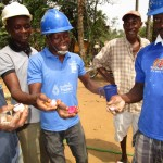 The Water Project : 51-sierraleone5105-kola-nuts-given-to-the-team