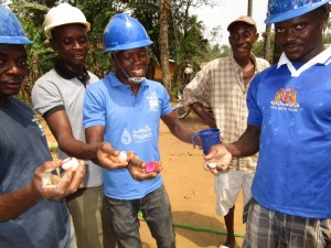 The Water Project:  Kola Nuts Given To The Team