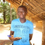 The Water Project: Ponka Village -  Keifallah Sesay