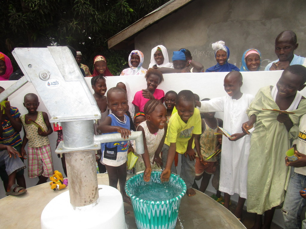 The Water Project : 51-sierraleone5111-clean-water-celebration