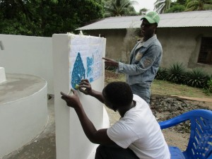 The Water Project:  Painting