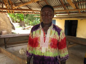 The Water Project:  Chief Pa Komrabai Bangura
