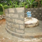 The Water Project : 53-sierraleone5105-building-the-new-well-pad