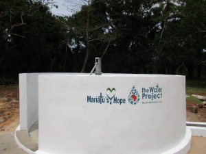 The Water Project:  Completed Project