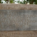 The Water Project: Syakama Community -  Finished Dam