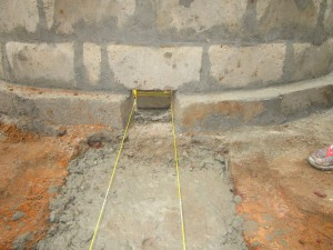 The Water Project : 55-sierraleone5105-building-the-new-well-pad