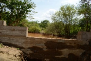 The Water Project:  Finished Dam