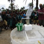 The Water Project: DEC Primary School -  Clean Water Flowing