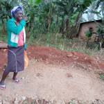 The Water Project: Mahanga Community -  Sanitation Platform In Progress