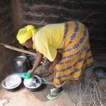 The Water Project: Kivani Community A -  Pius Household Kitchen