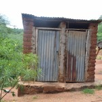 The Water Project: Nzung'u Community C -  Latrines