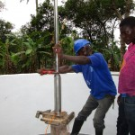 The Water Project: Mapeh Community -  Pump Installation