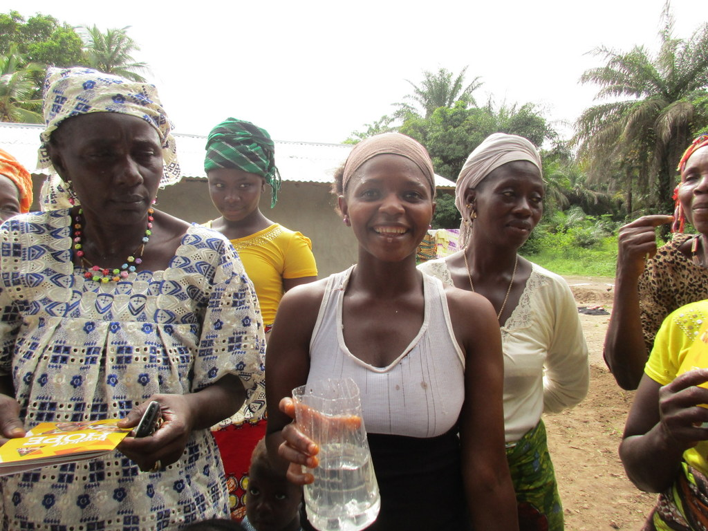 The Water Project : 62-sierraleone5112-clean-water-celebration