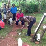 The Water Project: Visiru Community, Kitinga Spring -  Training