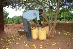 The Water Project : 7-kenya4772-water-containers