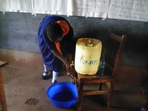 The Water Project:  Hand Washing Demo