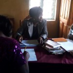 The Water Project: Bukura Primary School -  Meeting With Principal