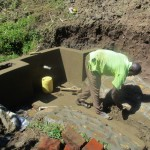 The Water Project: Eshiakhulo Community -  Construction