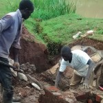 The Water Project: Mahanga Community -  Construction