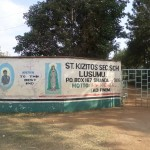 The Water Project: St. Kizito Lusumu Secondary School -  School Gate