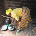 The Water Project: Kaani Community E -  Justina Pius Household Kitchen