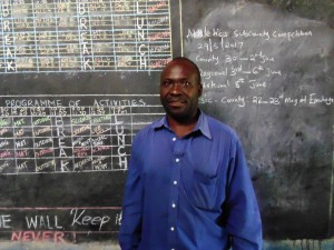 The Water Project:  Headteacher Madafu Benard