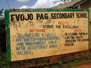 The Water Project : 1-kenya4834-school-sign