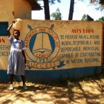 The Water Project: St. Antony Shijiko Primary School -  School Entrance