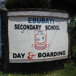 The Water Project: Ebubayi Secondary School -  School Entrance