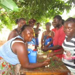 The Water Project: Kitonki Community, War Wounded Camp -  Training