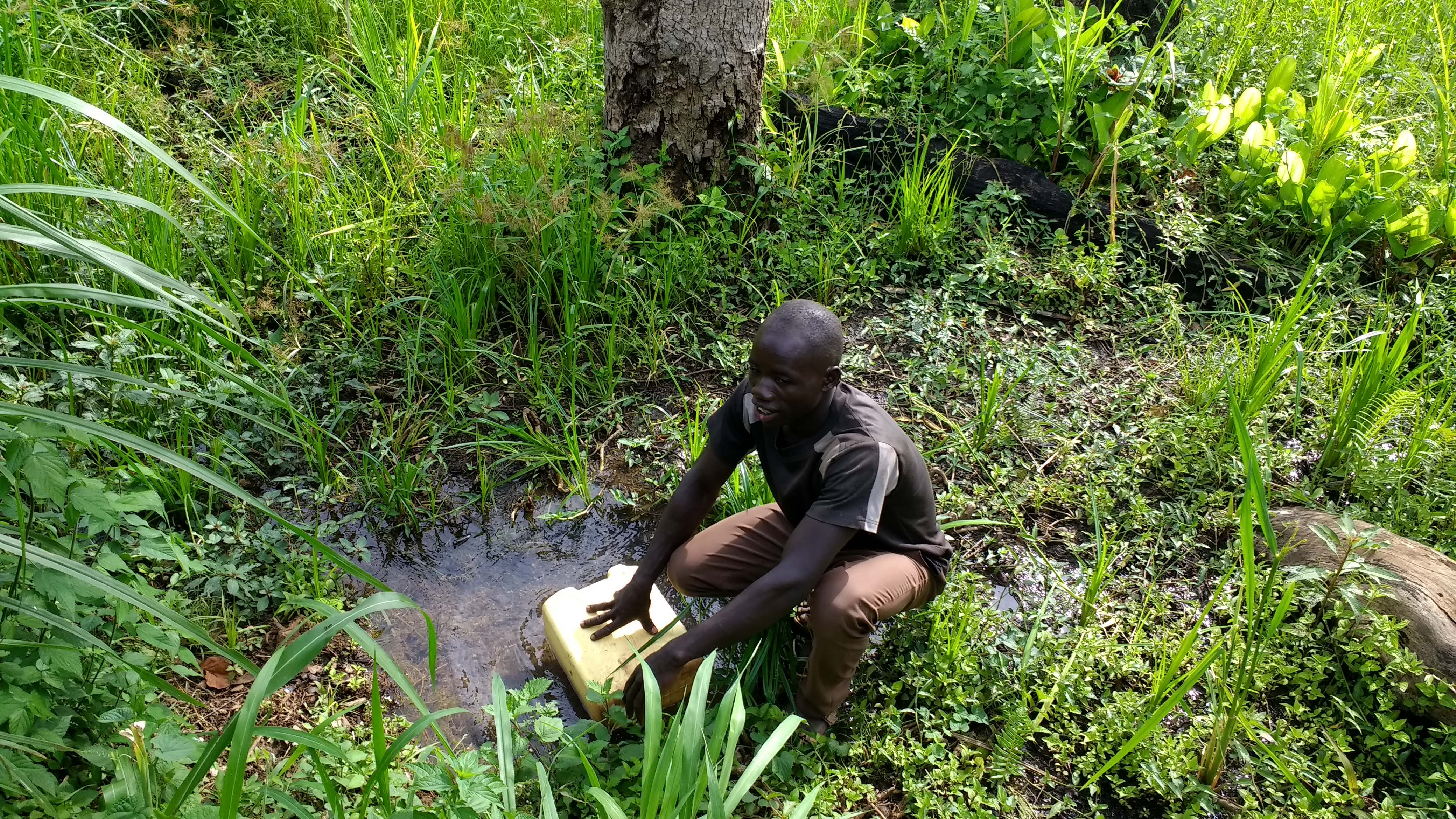 The Water Project : 1-uganda6084-unprotected-spring