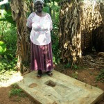 The Water Project: Wanzuma Community -  Sanitation Platform