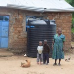 The Water Project: Kaani Community C -  Household Teresia Kilonzo